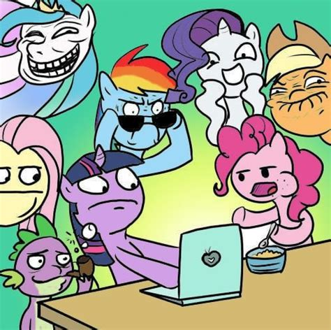 Mlp Meme - mega thread post all of your funny pony pictures here