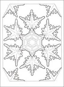Snowflake Designs Mandala Coloring Pages And Snowflakes Snowflake Coloring Pages For Adults