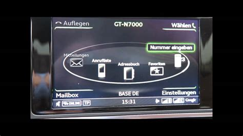 Audi A6 Mmi Radio Plus by Audi A6 Mmi Plus Telefon Facelift 2014