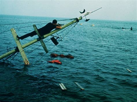 jaws sunken boat don t go near the water