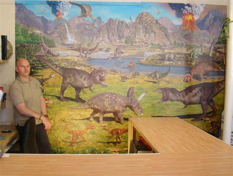 dinosaurs murals walls news i dig dinos fossils