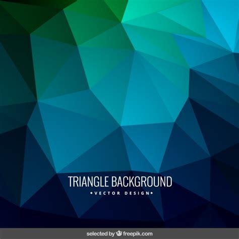 imagenes de triangulos verdes fondo triangulo azul y verde descargar vectores gratis