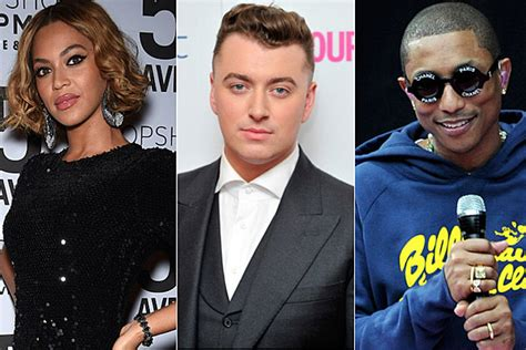 grammy winners list for 2015 includes sam smith pharrell 2015 grammy nominations include beyonce sam smith