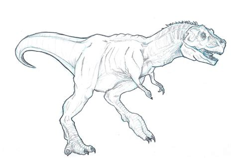 Drawing T Rex Dinosaur by How To Draw T Rex For