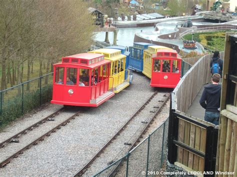 Pit Room Completely Legoland Windsor The Beginning The Hill Train
