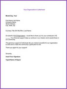 thank you for your support letter 5 best sles