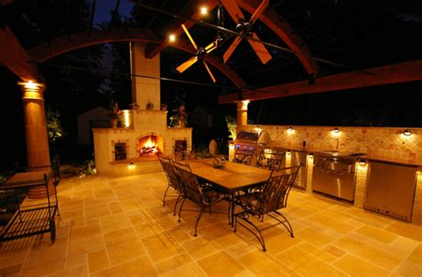 outdoor kitchen lighting ideas triyae com lighting ideas for outdoor kitchens various