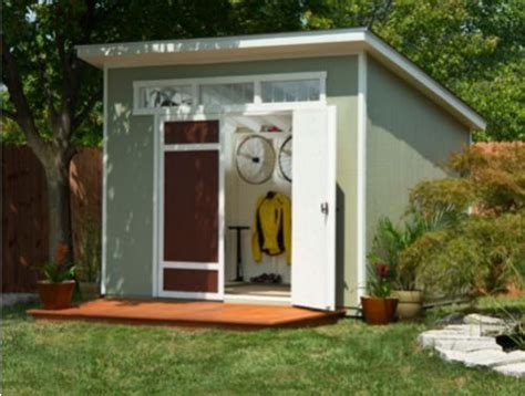 midcentury modern style shed on sale now outdoor