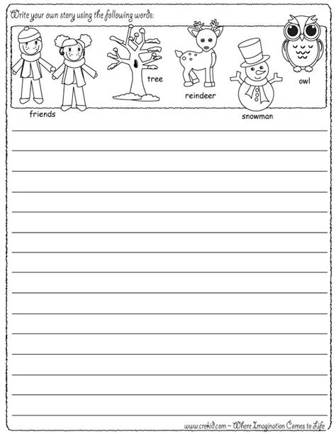 printable journal prompts for second grade 43 best images about winter on pinterest homeschool