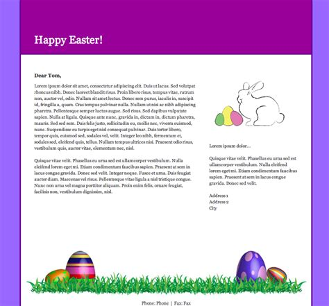 easter email templates email newsletter templates for easter