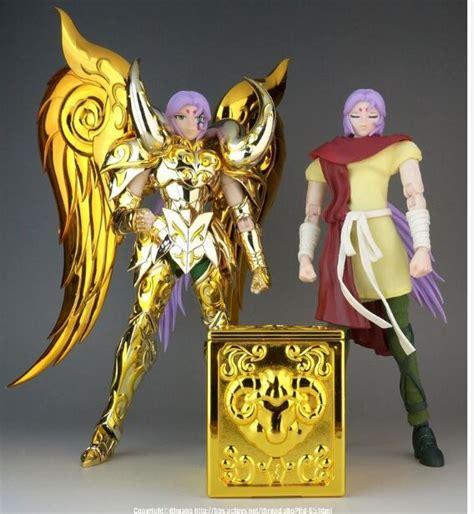 Seiya Gold Figure Set Isi 6 ae athena exclamation model sog aries mu figure metal armor seiya soul of gold