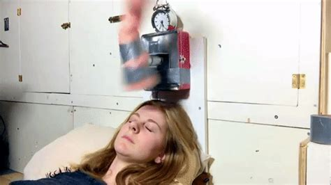 How To Up If Your A Heavy Sleeper by Up Machine Slapping Alarm Clock Is Heavy