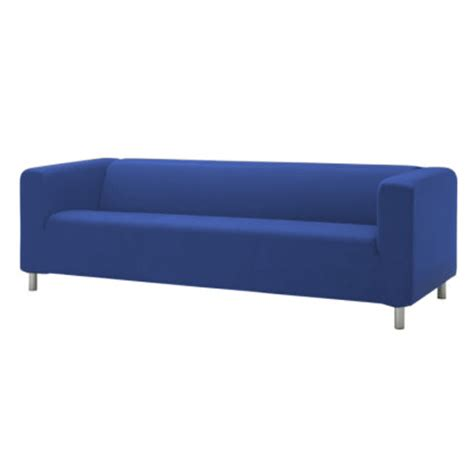 blue cover slipcover to fit ikea klippan 2 or 4 seater