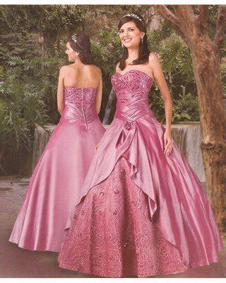 trajes para 15 anos este es un vestido color vestido de 15 a 241 os color rosa estilo princesa