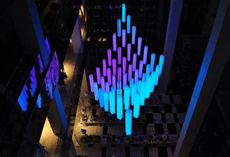 Shopping Light Shape Shifting Led Light Chandelier On Permanent Display