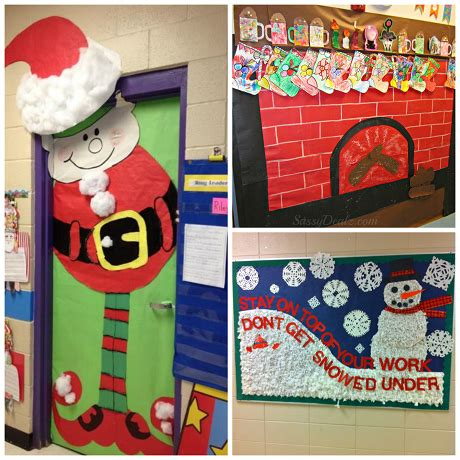 list of christmas bulletin board ideas for the classroom