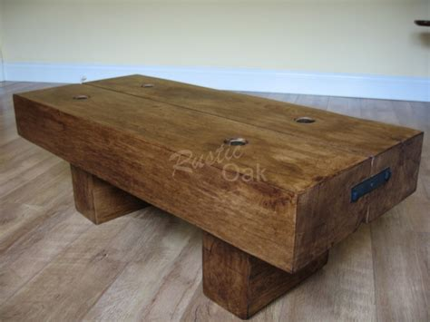 rustic ottoman coffee table coffee tables ideas favorite fins rustic oak coffee table