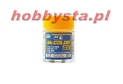 Mr Color Chiara Yellow Gx4 mr color gx4 charra yellow gloss gunze sangyo gx4