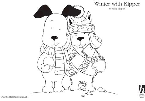 dog coloring pages kipper the dog coloring pages kids