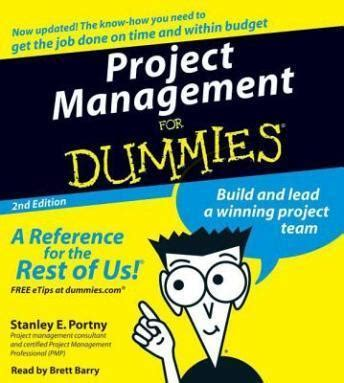 Upholstery For Dummies by Listen To Project Management For Dummies By Stanly Portny