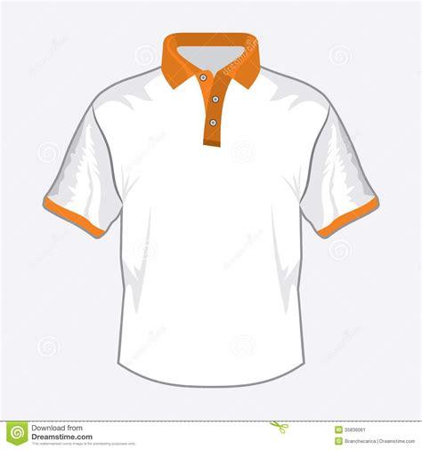 white polo shirt stock vector image of fashion empty