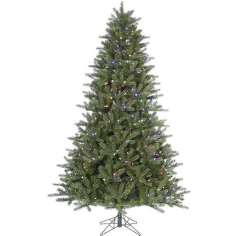 family dollar artificialchristmas tree 5 5 pre lit kennedy fir artificial tree multi color led lights 5ive dollar market