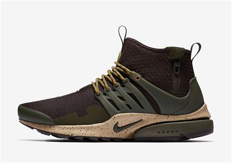 Termurah Sepatu Nike Air Presto Mid Utility Olive Premium Running nike presto mid utility fall 2017 colorways sneakernews
