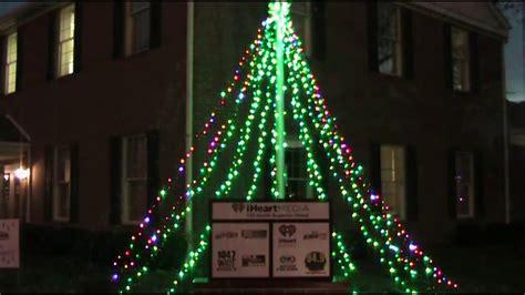 holiday light display piday raspberrypi raspberry pi