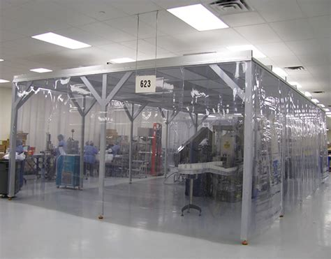 Clean Rooms by Cleanroom Installer Hardwall Softwall Semi Hardwall