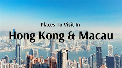 hong kong tourist attractions  places  visit