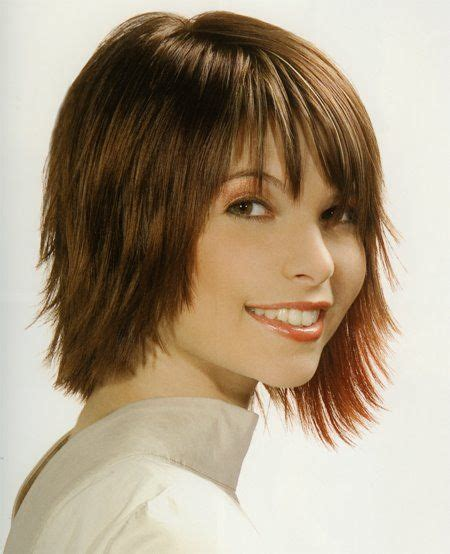 hairstyles for unwanted bangs medium length razor cut hairstyles for women fashionable