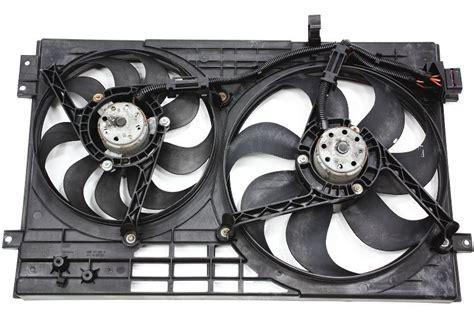engine cooling fans   audi tt mk  genuine