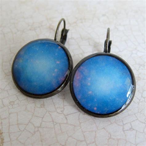 space earrings galaxy earrings astronomy earrings nasa
