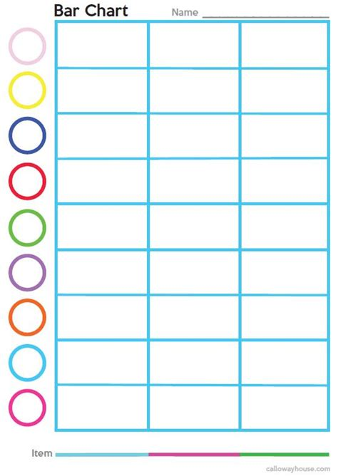 free web chart printable graphic organizers calloway house