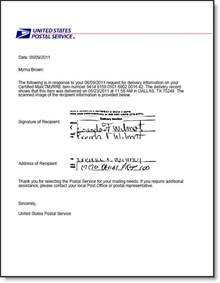 Certification Letter Of Lost Questions About Usps Certified Mail Certified Mail Labels