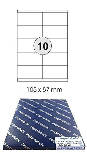 Etiketten Drucken 105 X 57 by Etikettierer Etiketten Von Zega Labels Bei I Love Tec De
