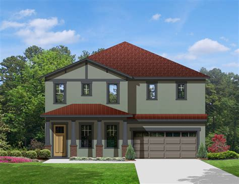 dual master suites plus loft 15801ge architectural two exteriors to choose from 82096ka 1st floor master