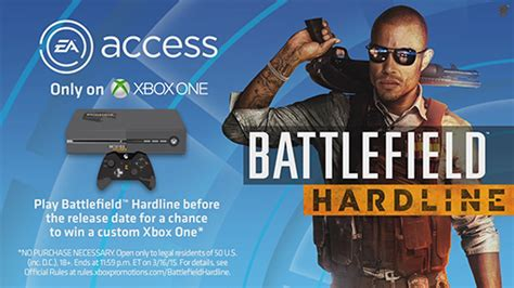 battlefield hardline ea early access now available exclusively on xbox one