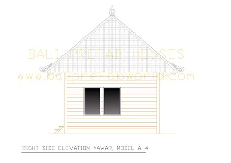 side elevation mawar