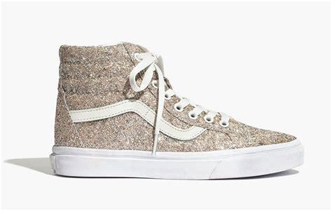 Vans Sk8 High Icc glitter sk8 hi high top vans sneakers popsugar fashion