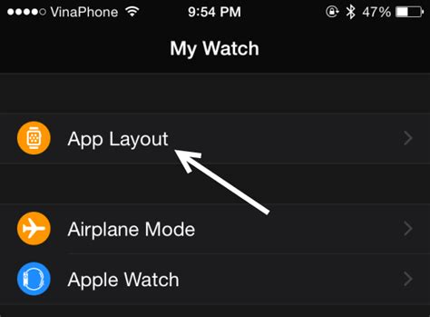 change layout of iphone how do i change the app layout on my apple watch