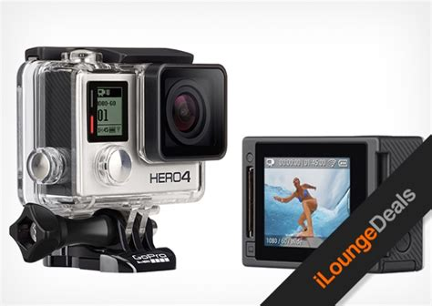 Daily Gopro Giveaway - daily deal the gopro hero4 black giveaway ilounge news