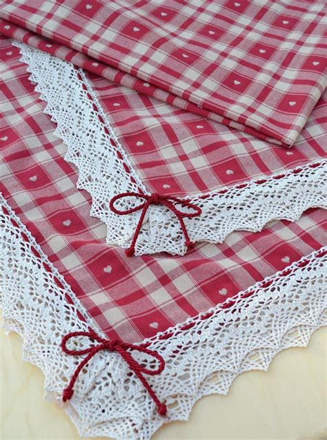 Handmade Table Cloth - handmade tablecloth cuore nordico tablecloths napkins