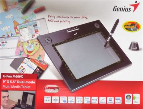 Genius G Pen I405x genius g pen m609x multimedia tablet review geardiary