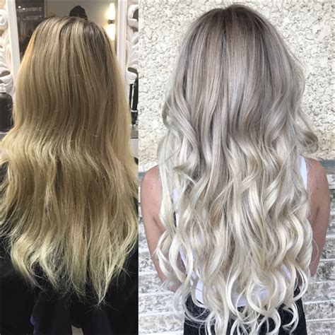 Toner Makeover by Babylights Glam Wash Toner And Extensions For Dramatic