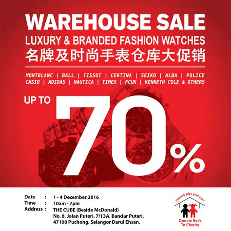 Sale Tas Wanita Exclusive 201 city chain luxury branded fashion watches warehouse sale puchong fashion clothing