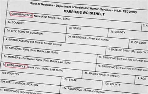 Nebraska Marriage License Records County To Issue Same Marriage License Ceremonies To End News