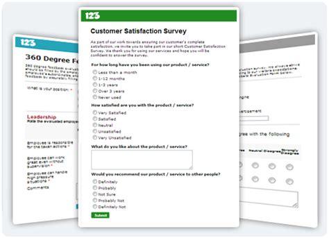 Free Online Survey Maker & Questionnaire Builder