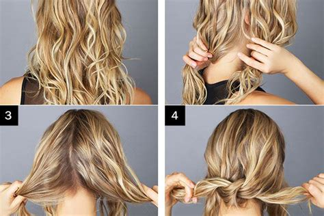 how to make a low bun with long box braids hairstyles messy bun hairstyle tutorial alldaychic
