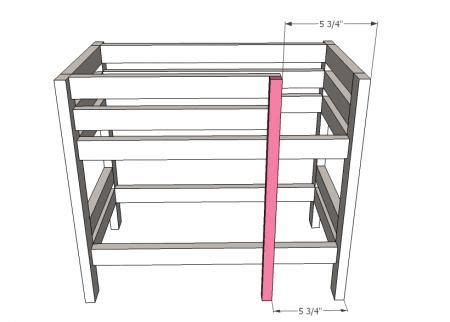 Ana White Build A Doll Bunk Beds For American Girl Doll Baby Doll Bunk Bed Plans
